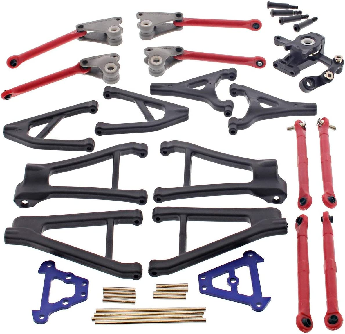 B01JF6QAG2 Traxxas 1/16 Mini Slash 4x4 SUSPENSION ARMS PINS & TURNBUCKLES SERVO SAVER 71gYOaHhXJL