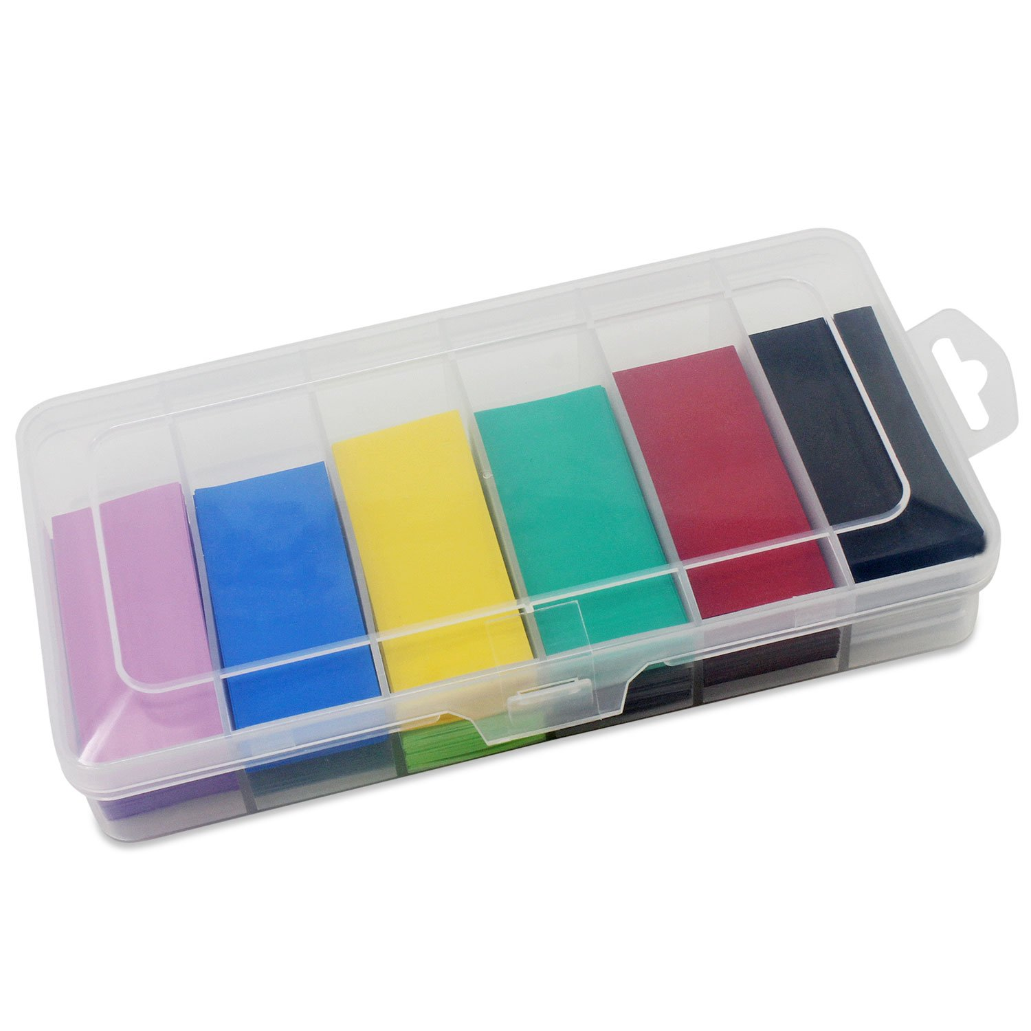 OCR Flat PVC Heat Shrink Tubing Battery Wrap for 1 x 18650 Battery 300PCS(29.5mm12 Colors) by OCR (Image #2)
