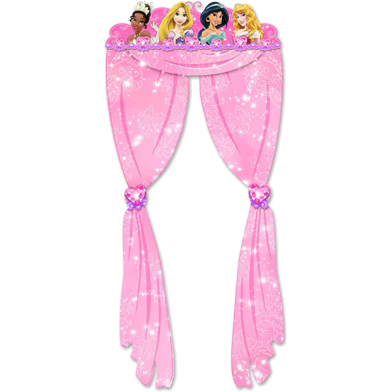 Amazon.com: Cortina para eventos de las princesas Disney ...