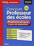 Concours professeur des écoles - Mathématiques - Cours et exercices - L'essentiel en 35 fiches - Concours 2014/2015