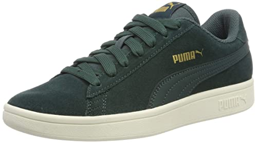 CHAUSSURES BASKETS PUMA unisexe Suede Classic + taille Vert Verte Cuir Lacets