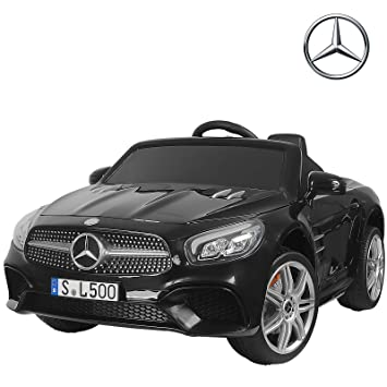 Electric Kids Cars >> Uenjoy 12v Licensed Mercedes Benz Sl500 Kids Ride On Car Electric Cars Motorized Vehicles For Kids Remote Control Music Horn Spring Suspension