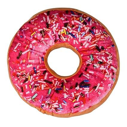 Amazon.com: Throw Pillows, FTXJ Colorful Doughnut Shaped ...