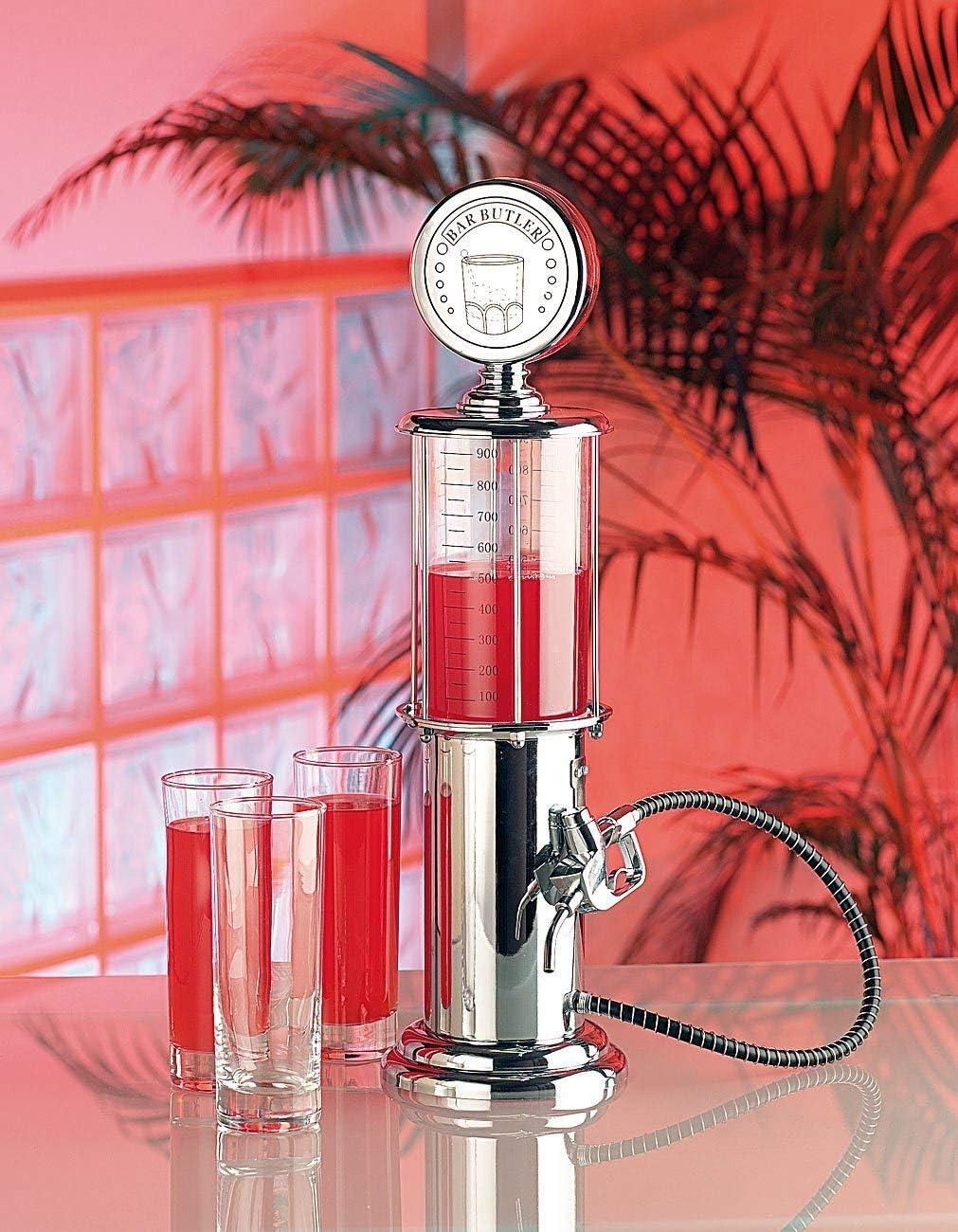 Regali di Natale MostroMania Dispenser con Tubo e Dosatore alla Spina Accessorio Vintage per Feste Distributore per Bibite a Pompa