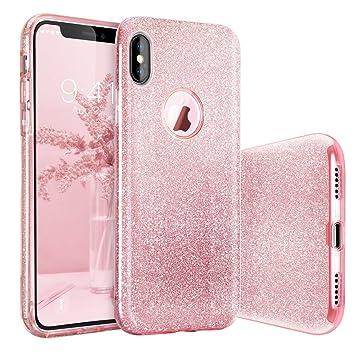 iphone x carcasa rosa
