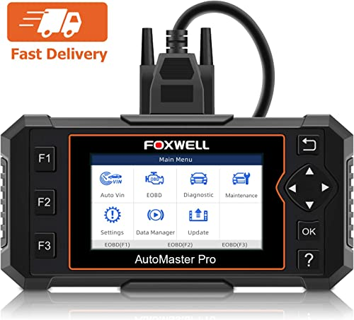 NT614 Elite is a good Foxwell scanner for enthusiasts (advanced DIYers) or beginner technicians.