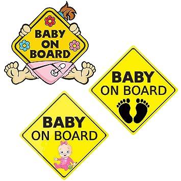 Baby An Bord Aufkleber Auto Aufkleber Sicherheit Selbstklebend Einfach Zu Installieren Wasserdicht Langlebige Baby An Bord Aufkleber Zeichen Für Lkw Fahrzeugfenster Baby