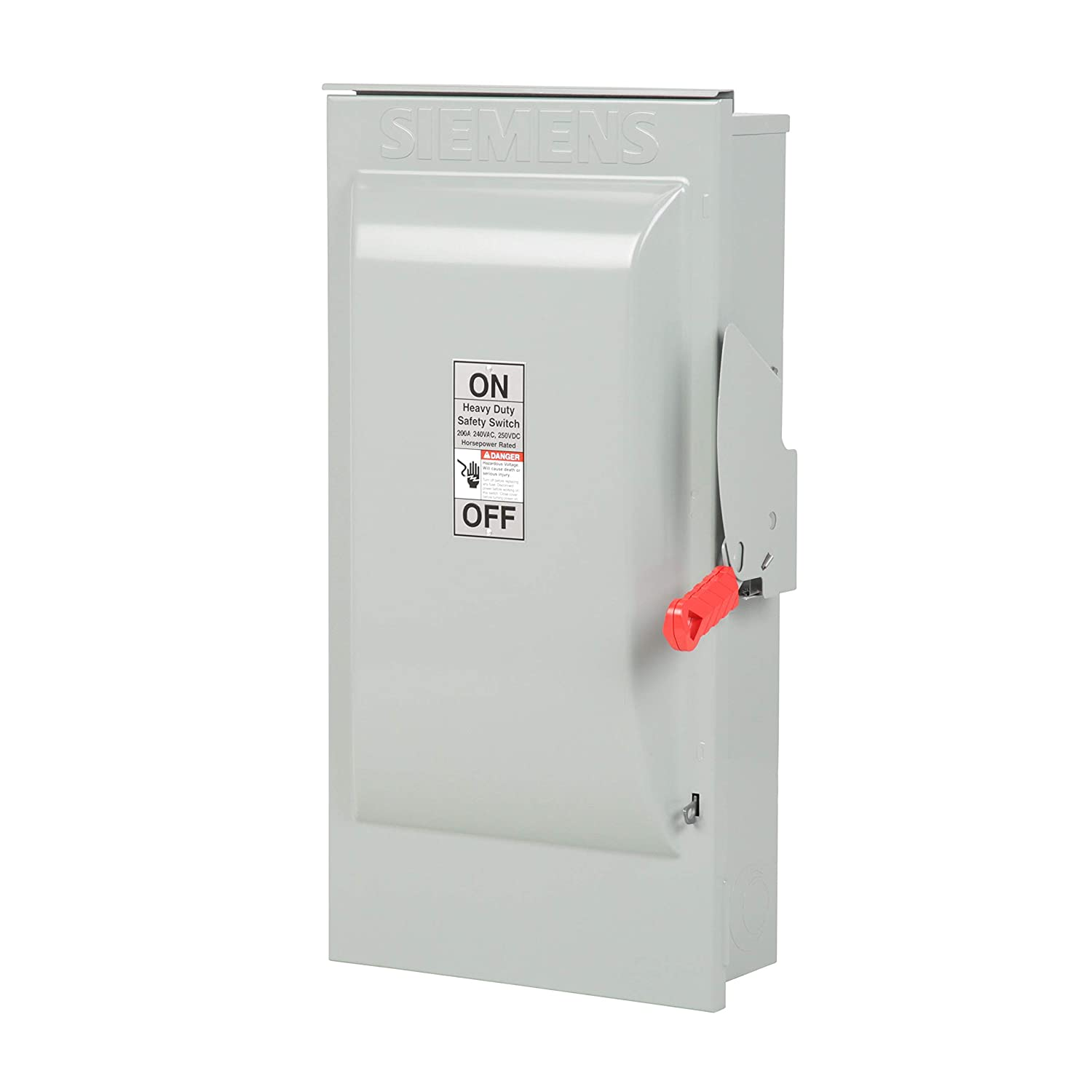 Siemens HF324NR 200-Amp 3 Pole 240-volt 4 Wire Fused Heavy Duty Safety Switches