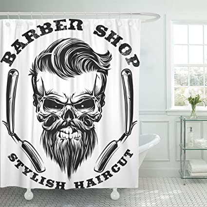 Image Unavailable Not Available For Color Emvency Shower Curtain Barber