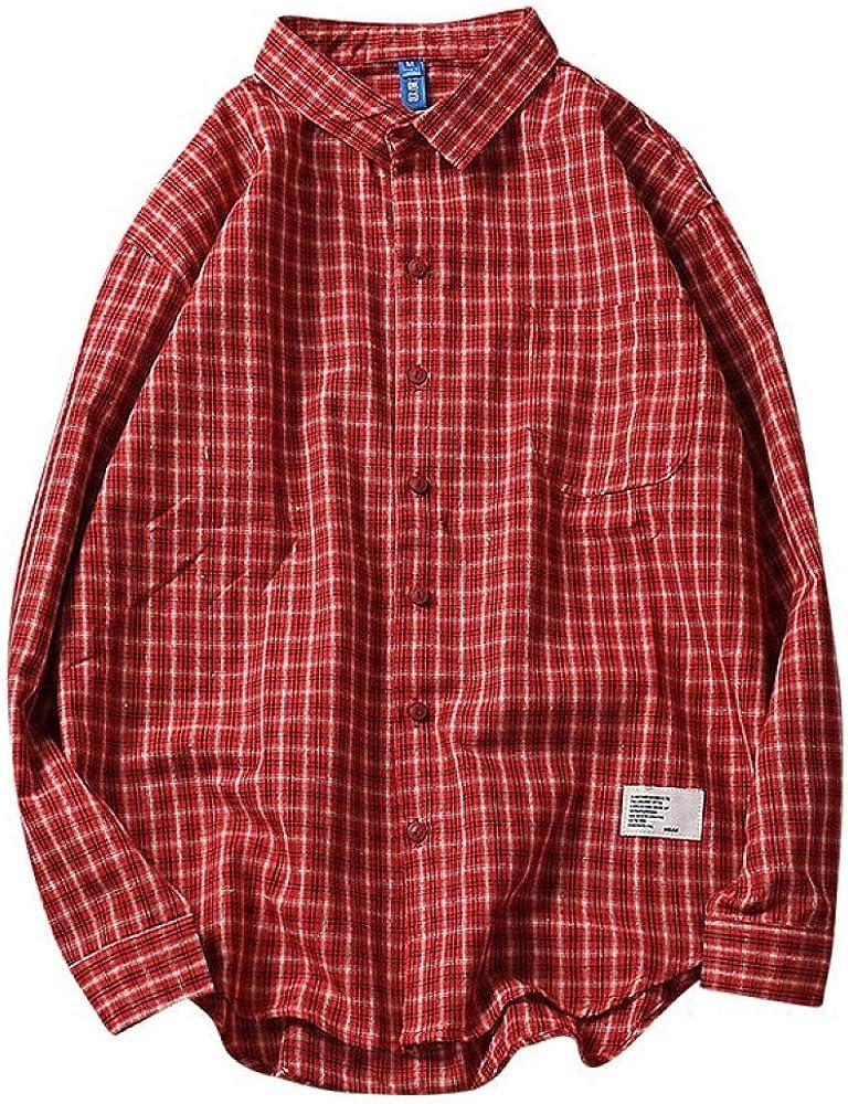 Camisa A Cuadros De Los Hombres Camisa A Cuadros De Impresión ...