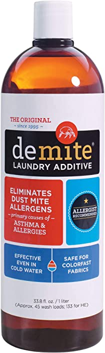 DeMite Laundry Additive - 1 liter bottle