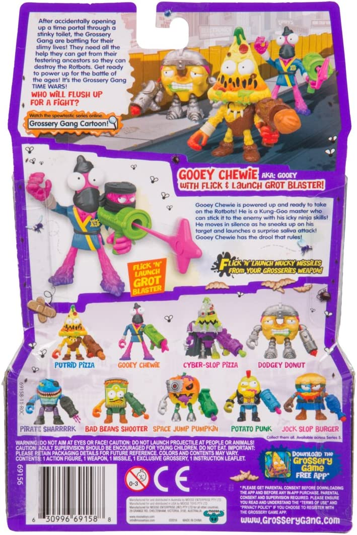 Grossery Gang The Time Wars Action Figure - Gooey Chewie
