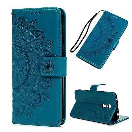 Funda Xiaomi Redmi 5 Plus, Carcasa Libro Piel de Cuero con Tapa Flip Case, Cover PU Leather Con TPU Case Interna Suave, Soporte Plegable, Ranuras para ...