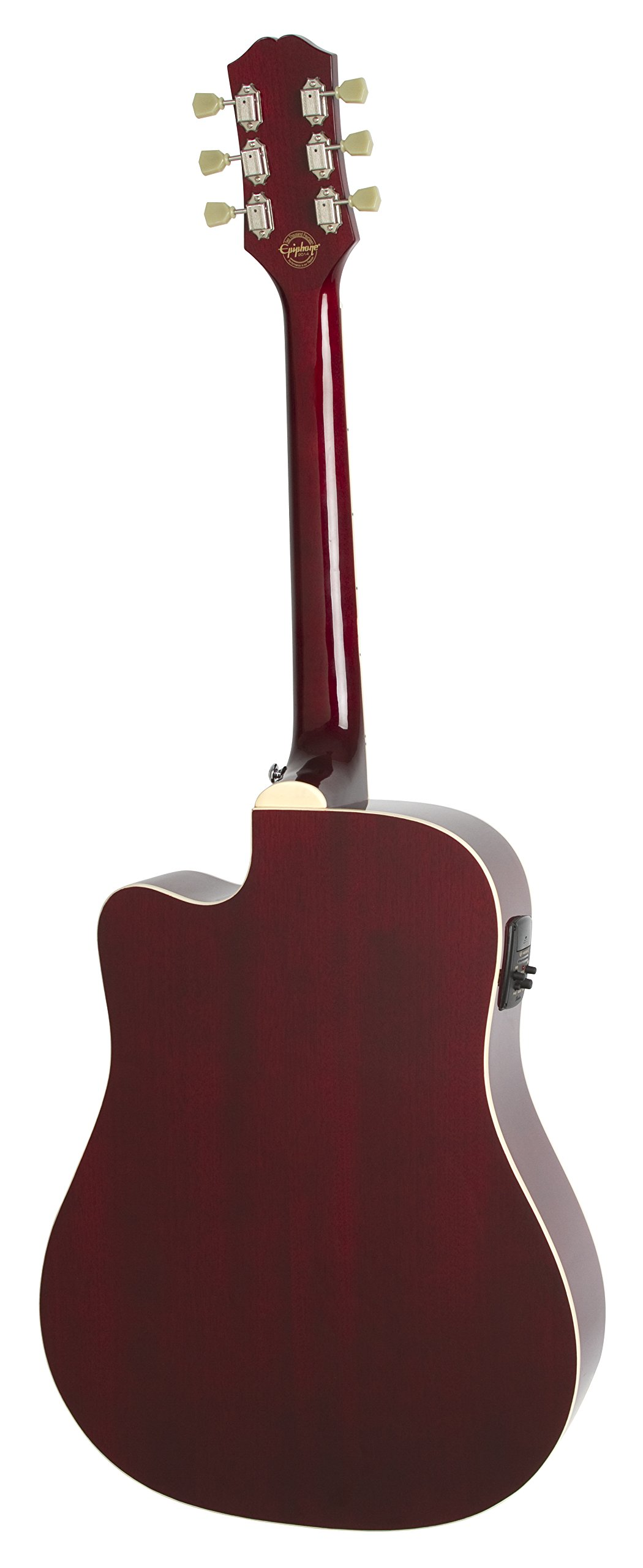 epiphone pro 1 ultra solid top acoustic electric guitar system for beginners gloss wine red. Black Bedroom Furniture Sets. Home Design Ideas