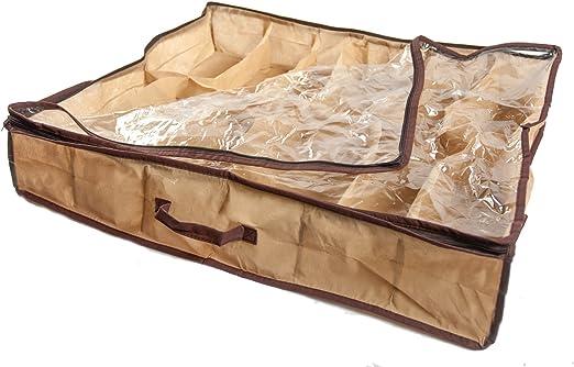 12Pairs zapatos organizador bolsa de tela para la caja de ...