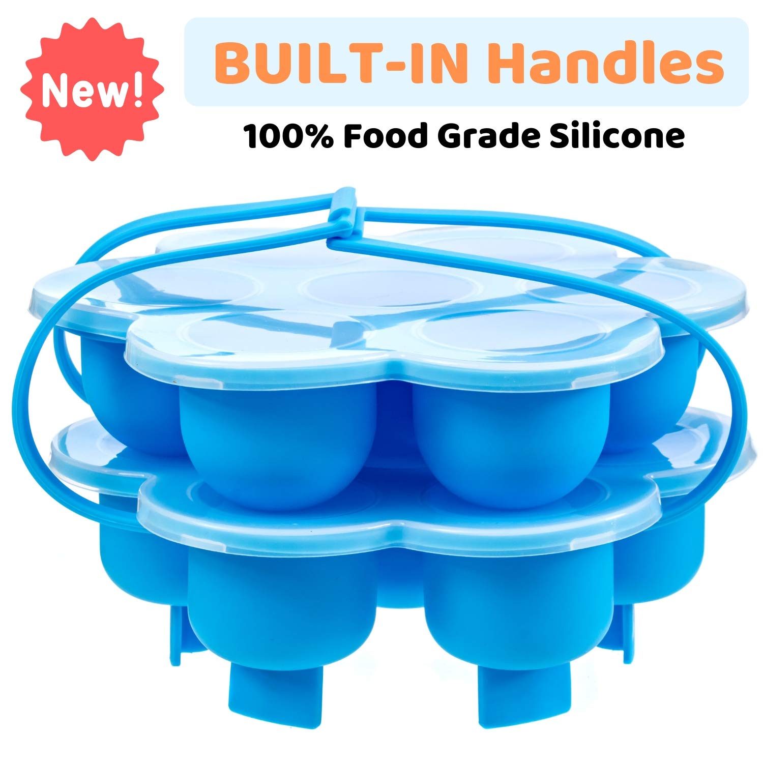 Silicone Egg Bites Molds For Instant Pot