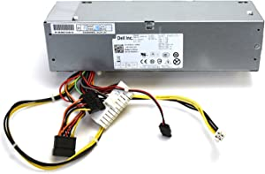Genuine Dell 240W Power Supply PSU N0L240AS-00 100-240V 24-Pin 4-Pin SATA Slimline SATA AC240AS-00 H240AS-00