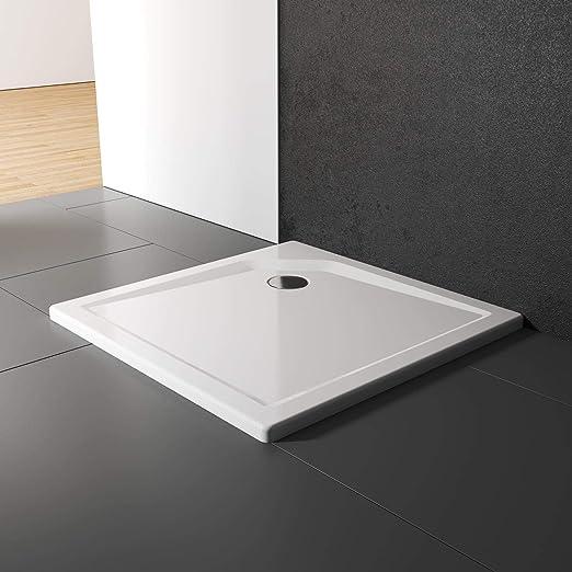 Schulte Duschwanne 90x90 Cm Quadrat Extra Flach 3 5 Cm Sanitar