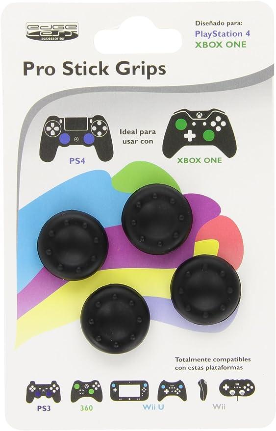 Edgeless - 4 Pro Stick Grips Para Mandos, Color Negro: Amazon.es: Videojuegos