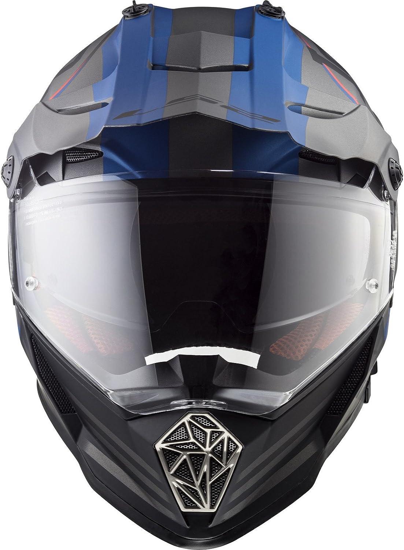 LS2 MX436 Pioneer Quarterback Dual Sport Helmet