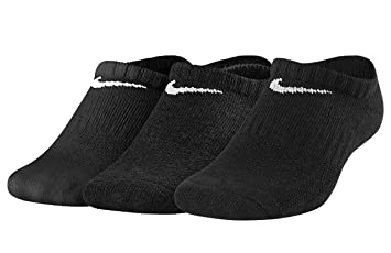 Nike Y NK EVERYDAY CUSH NS 3PR - Calcetines, Unisex Infantil, Negro(BLACK/WHITE): Amazon.es: Deportes y aire libre