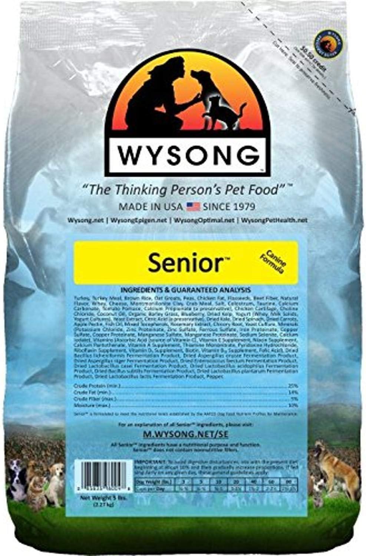 Wysong Senior Canine Formula - Dry Diet Senior Dog Food