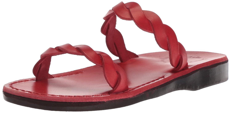 Jerusalem Sandals Women's Joanna Slide Sandal B075KN8CZT 40 Medium EU (9-9.5 US)|Red