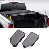 Moonlinks Bed Rail Stake Pocket Cover for 2014-2018 GMC Sierra 1500 and Chevrolet Silverado 1500/2500/2500HD/3500(Set of…