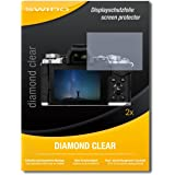 2 x SWIDO Diamond Clear Screen Protector for Olympus OM-D E-M5 Mark II / OMD EM5 Mark 2 - PREMIUM QUALITY (hard-coated, bubble free application)