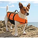 PETLESO Dog Life Jacket Regular - Fit Reflective Puppy Life Jacket,3XL to 7XL Dog life Preserver with Reflective Stripes for Large Breed Pets