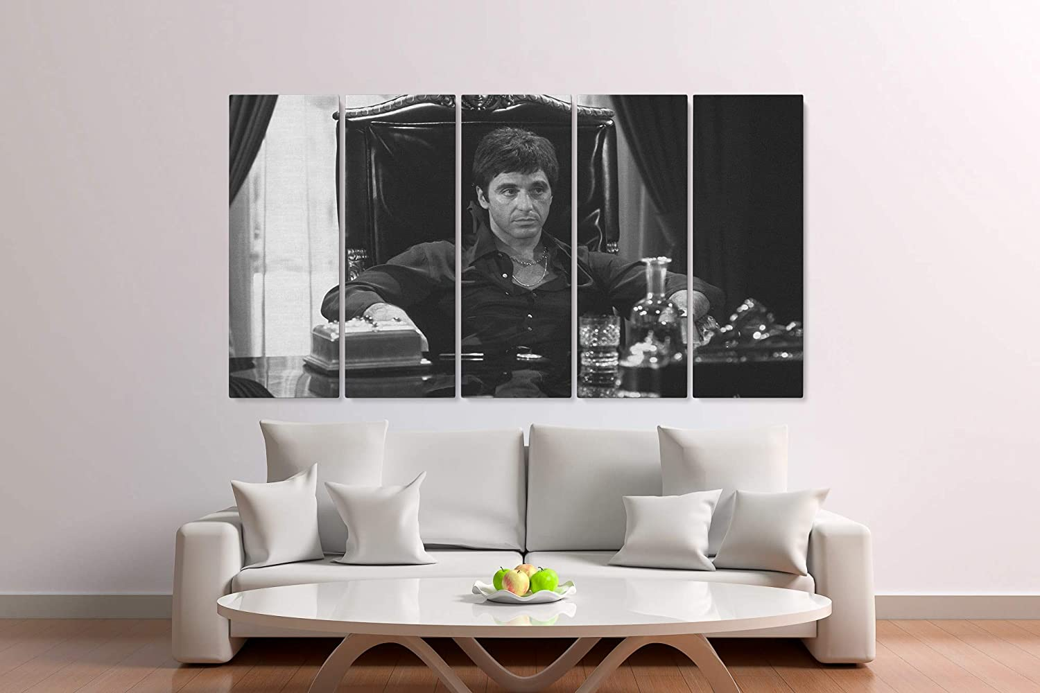 Scarface Al Discount mail order Pacino Movie Painting Canvas Outlet SALE Print Decor Wa Home Art