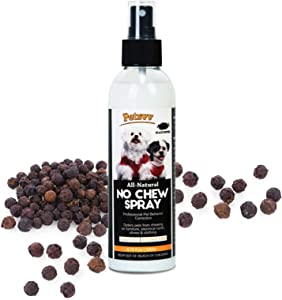 Pets vv Anti Chew Spray, Ultra Bitter Spray Deterrent for Dogs to Stop Chewing, No Chew Spray for Puppies & Dogs Alcohol-Free - 200ml