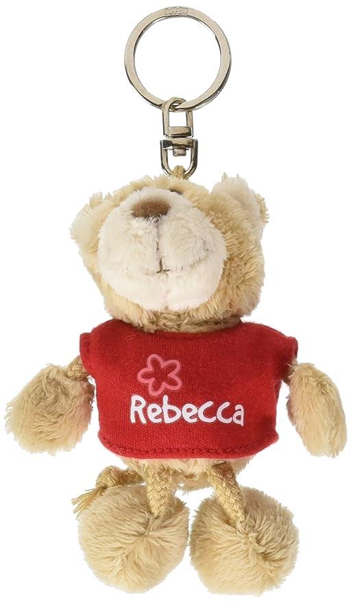 NICI n15835 - Llavero Oso con Camiseta Rebecca, Rojo: Amazon ...