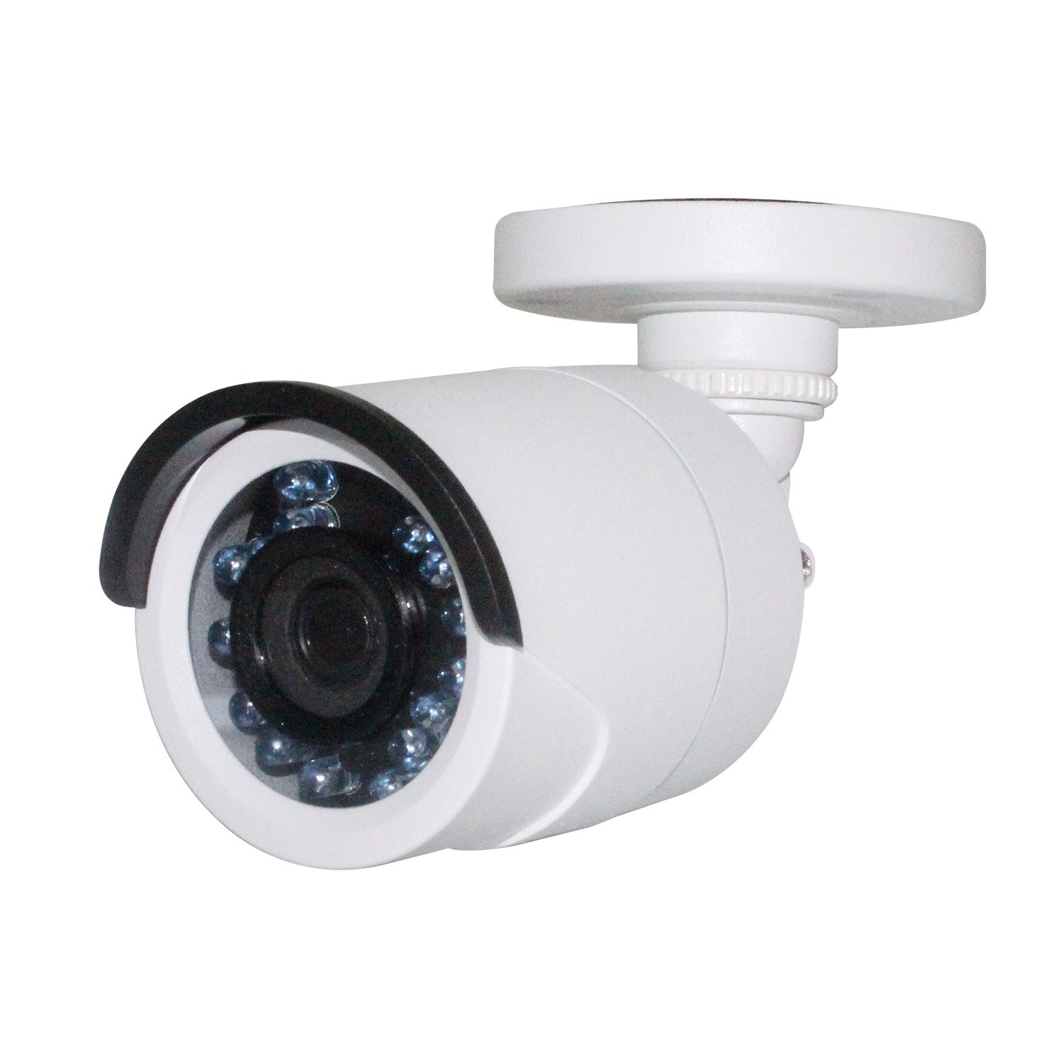 Hikvision Security Bullet Camera, 2MP Analog Surveillance Camera 4-in-1(TVI/AHD/CVI/960 Analog) Outdoor,Work with Hikvision DVR,3.6mm IP66(DS-2CE16D0T-IRF OEM)