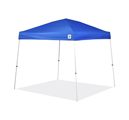 Amazon.com: E-Z UP Vista Instant Shelter Canopy, 10 by 10\', Blue ...