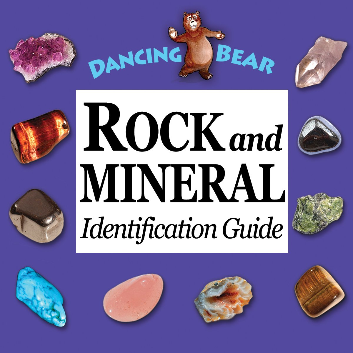 Amazon.com: Rock and Mineral Collection 10 piece Mix #1, in box with 27  page Rock & Mineral book and educational ID card!: Kitchen & Dining