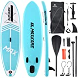 MaxKare Stand-Up Inflatable Paddle Board SUP Paddle Board(120in30in6in) Non-Slip Paddle Board with Complete Accessories& Wate