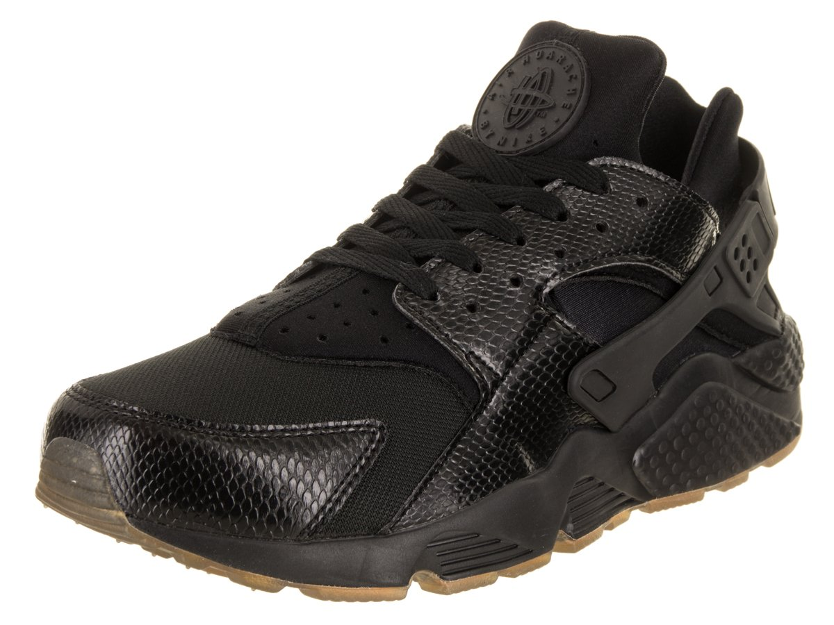 NIKE Men's Air Huarache Running Shoes B078P46JLP 13 D(M) US|Lack/Elemental Gold-gum Medium Brown