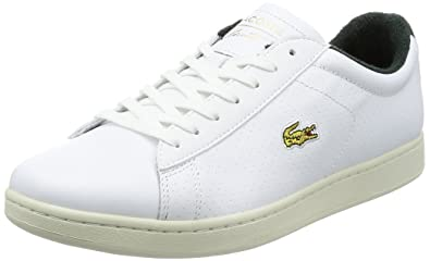 944a8622aa13b Lacoste Mens White Carnaby EVO 317 2 Trainers  Amazon.co.uk  Shoes ...