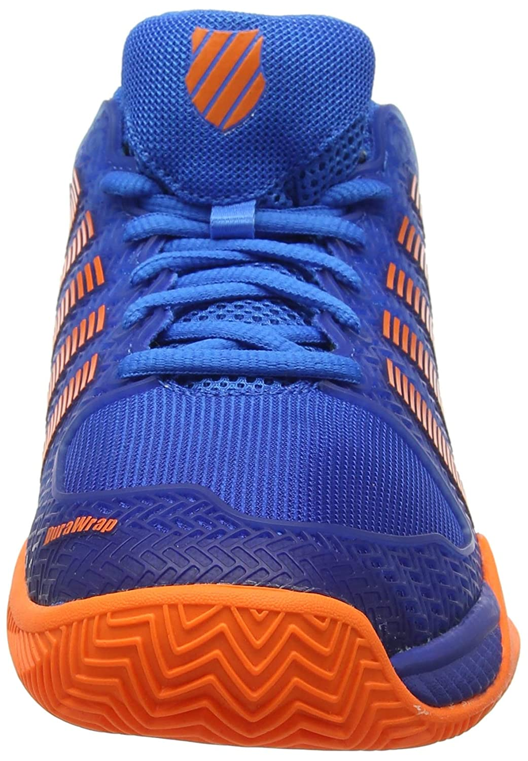 size 40 84f98 aaccf K-Swiss Performance Hypercourt Express HB, Chaussures de Tennis Homme, Bleu  (Brilliant Blue Neon Orange 427M), EU  Amazon.fr  Chaussures et Sacs