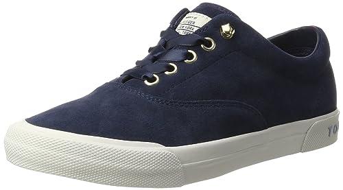 Tommy Hilfiger Wmn Y1285armouth 1b, Zapatillas para Mujer: Amazon.es: Zapatos y complementos