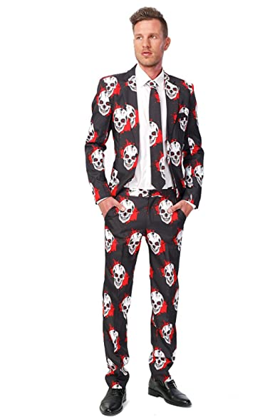 Skull Blood Suitmeister Adult Costume S