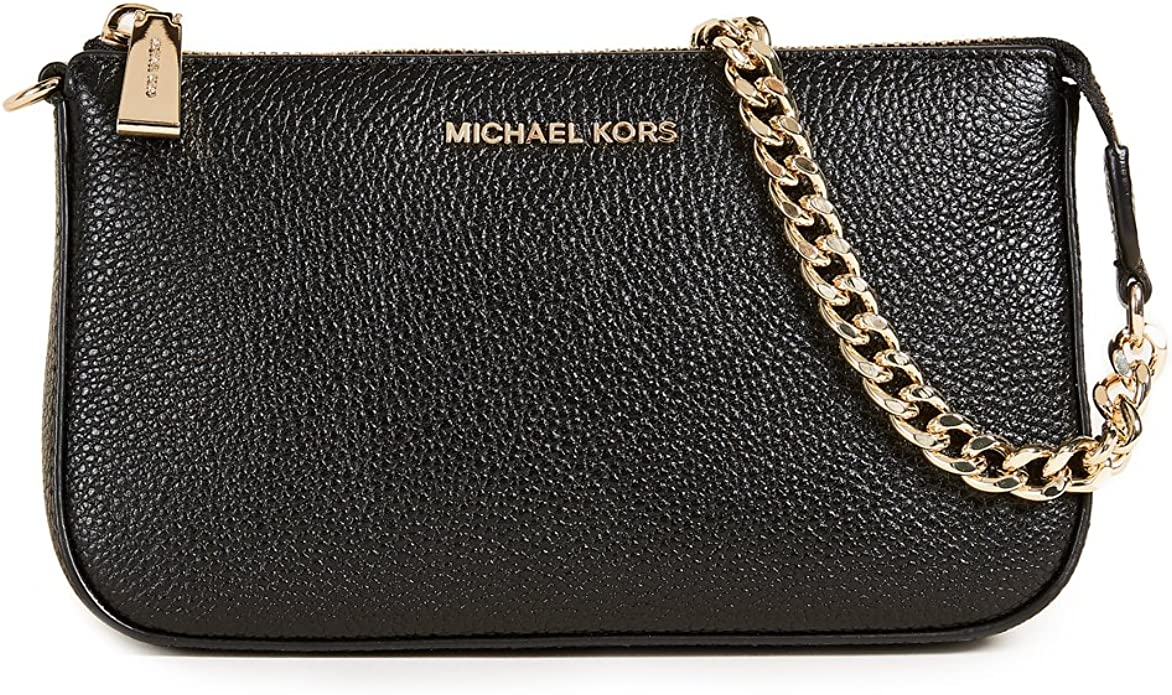 MICHAEL by Michael Kors Jet Set Clutch Schwarz Damen