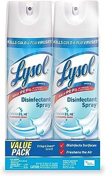 2-Pack Lysol 38oz (2x19oz) Disinfectant Spray