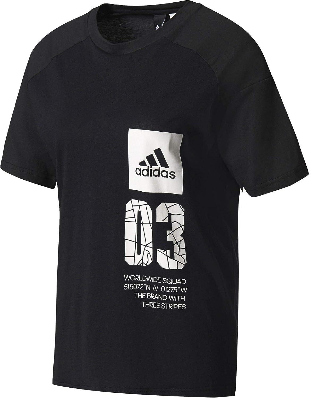 Adidas Fabricant FemmeNoirFrStaille Bk4298 T Shirt 4RjL35A