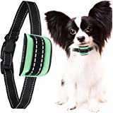 MASBRILL Small Dog Bark Collar No Shock for Dogs Extra Small- Medium Anti Dog Barking Device Beep Vibration Barking Control Training Collar for Dog 5-55lbs …