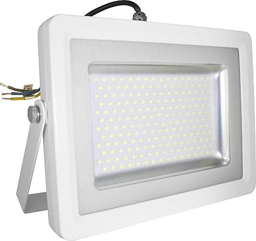Costo Faretto Led.Faretto Led Esterno Smd 100w Slim Bianco Faro Luce Naturale V Tac Vt 48100