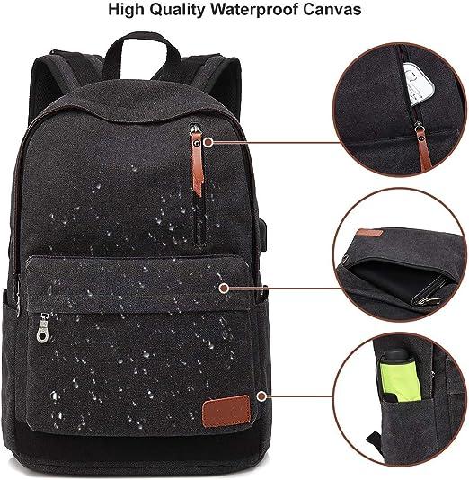MIJUGGH Canvas Backpack Ramen Shark Rucksack Gym Hiking Laptop Shoulder Bag Daypack for Men Women