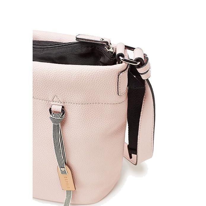 85a11e8f95c04 ESPRIT Ava M Shoulderbag Blau Damen Handtasche Modern Umhänge Tasche  Schultertasche Mode Taschen 127EA1O025-E435  Amazon.de  Bekleidung