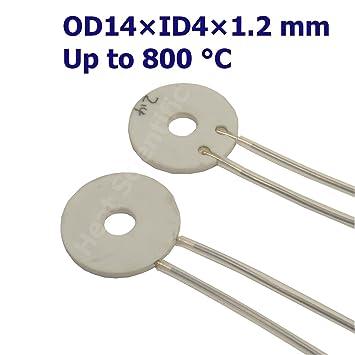 Heat Scientific MCH Metal Ceramic Heater | OD14 X ID04 X 1.2mm | Pack of  sc 1 st  Amazon.com & Heat Scientific MCH Metal Ceramic Heater | OD14 X ID04 X 1.2mm ...
